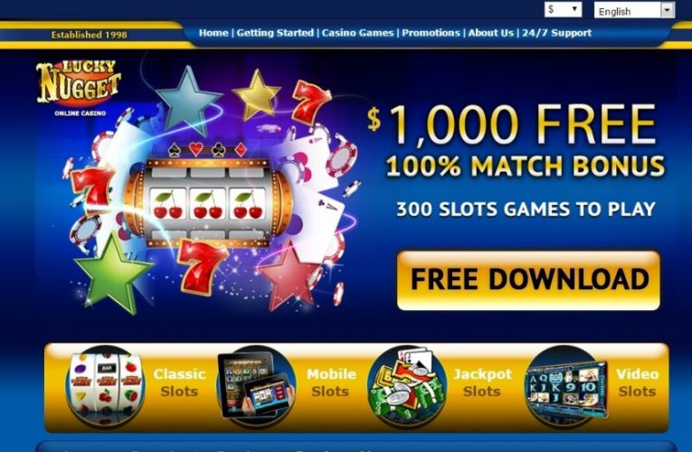 LuckyNugget Casino Review